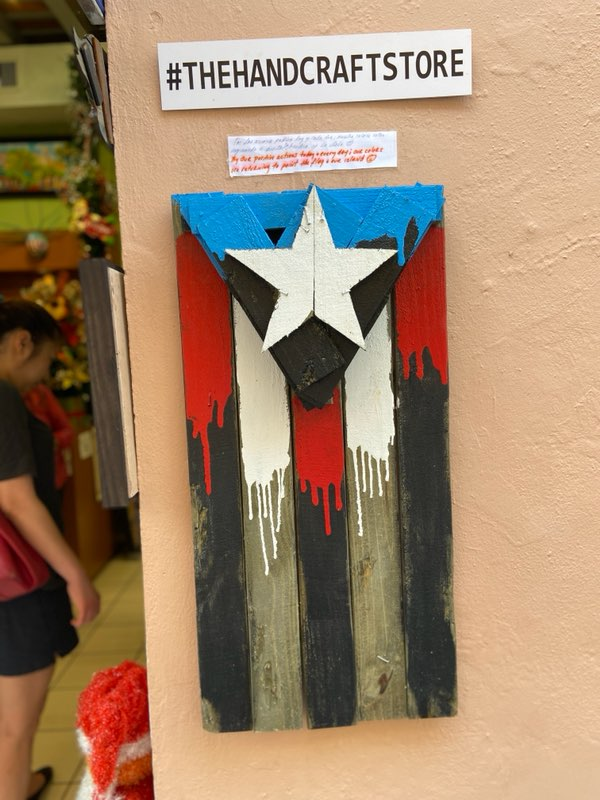 the Hand Craft Store Old San Juan