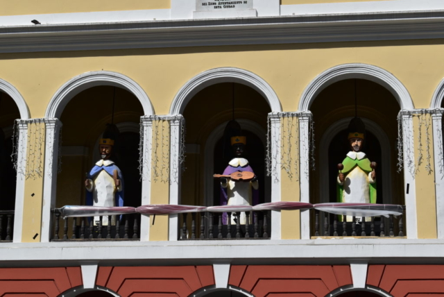 Three Kings at City Hall Old San Juan
