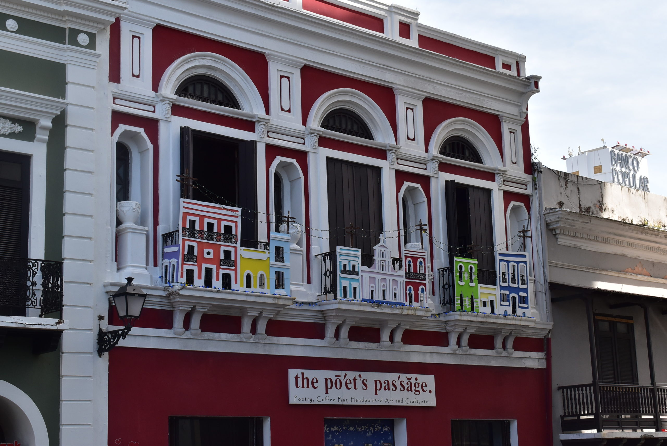 Beautiful Historic Buildings of Old San Juan