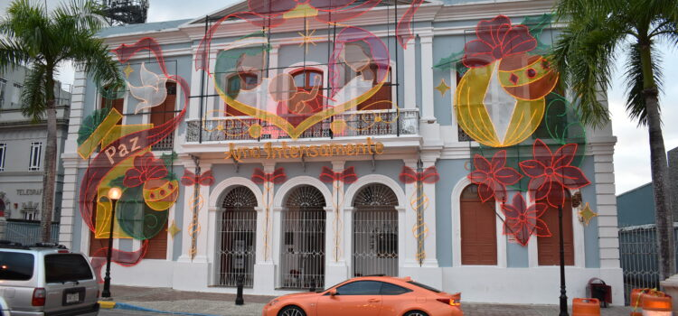 Caguas Town Plaza Christmas Night