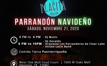 Parrandon Navideño with La Placita Houston
