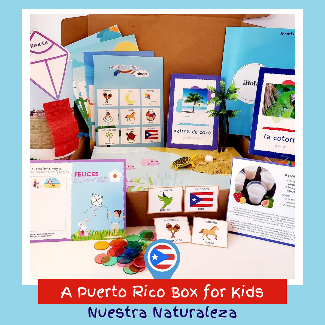 A Puerto Rico Box for Kids
