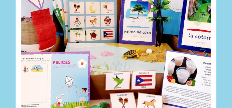 We are Root-Ed a Puerto Rico Box for Kids