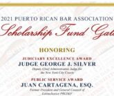 2021 Puerto Rican Bar Association Scholarships Fund Gala
