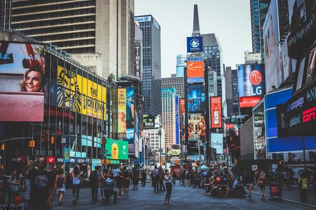 new york city billboards
